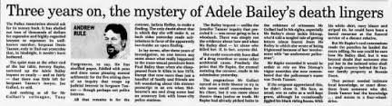 The Age (Melboune, Victoria, Aus) 1999-05-21 Three years on, the mystery of Adele  Bailey Death linge - Newspapers.com