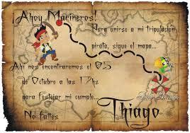 Invitacion Cumpleanos Pirata Imagui