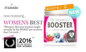 women s best pre workout booster is