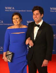 Sarah and Bryan Sanders - White House Correspondents' Dinner 2018 - CBS News