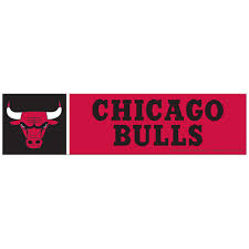 Chicago Bulls Bumper Sticker