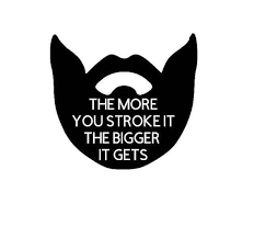 The More You Stroke It The Bigger It Gets Beard Decal Car Etsy In 2020 Car Decals Vinyl Cute Stickers Jokes About Men