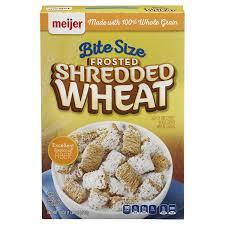 meijer bite sized frosted shredded