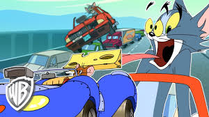 Tom et Jerry en Français | La voiture monocycle |