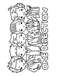 11 Printable One Direction Coloring Pages For Kids Coloring