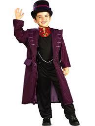 Boys Charlie And The Chocolate Factory Willy Wonka Costume - Walmart.com -  Walmart.com