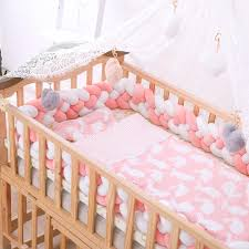 2m 3m baby bed per four braid baby