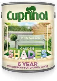Cuprinol Cupgsfr25l 2 5 Litre Garden Shades Paint Fresh Rosemary Amazon Co Uk Diy Tools