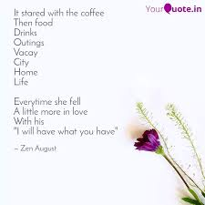 it stared the coffee quotes writings by sherry sethi