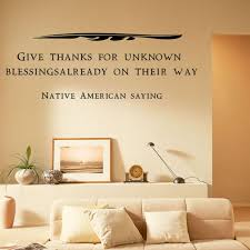 Native American Saying Wall Decals By Artollo