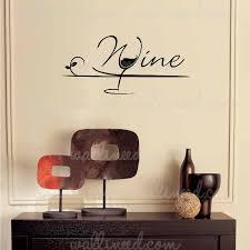Wine Glass Wall Decal