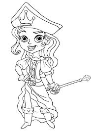 De Piratenprinses Kleurplaat Gratis Kleurplaten Printen
