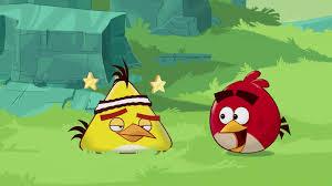 Angry Birds Toons   Chuck Time - S1 Ep1 GIF