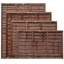 Weatherwell Lap Wooden Fence Panels 3ft Buy Online In Czech Republic At Desertcart