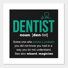 dentist definition funny dentist gift