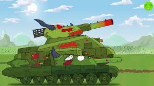 Cuộc xâm lược KV-44 - Phim hoạt hình về xe tăng [Gerand VN] - YouTube