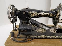 Vintage Singer 28 Victorian Decal Sewing Machine Shopgoodwill Com