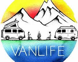Camper Van Decal Etsy