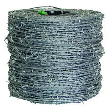 Farmgard 1 320 Ft 15 1 2 Gauge 4 Point High Tensile Cl3 Barbed Wire 317881a The Home Depot