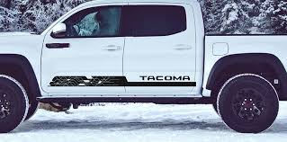 Tacoma Side Decal D 3rdg Jupiter On Earth