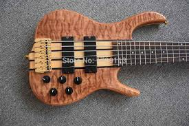 Good Custom Ken Smith 4,5 and 6 Strings Electric Bass Guitar Gold ...