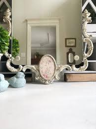 antique mirror hand painted mirror