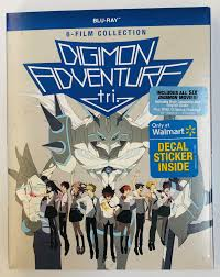 Digimon Adventure Tri 6 Film Collection Blu Ray Walmart Com Walmart Com