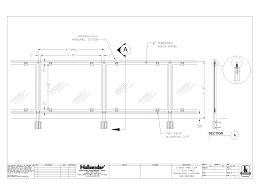 hollaender mfg co cad railing systems