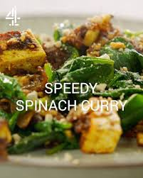 Jamie Oliver - Speedy Spinach Curry ...