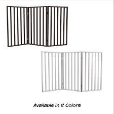 Shop Wooden Freestanding 3 Panel Indoor Barrier Fence 54 X32 By Petmaker Overstock 23527393