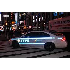 Peel N Stick Poster Of Police New York Road Nypd Police Car Poster 24x16 Adhesive Decal Walmart Com Walmart Com