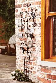 garden wall trellis plant supports