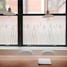Grass Butterfly 3d No Glue Window Cover Film Glass Stickers Stained New Year Home Decorative Bedroom Door Decal Privacy 45 200cm Decorative Films Aliexpress