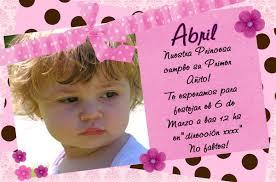 Invitaciones Tarjetas Infantiles Con Foto 1er Anito 120 00 En