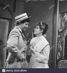 Television title A beautiful Sunday in September. Jules Croiset and Myra  Ward Date: June 15, 1961 Keywords: actors, television dramas Personal name:  Croiset, Jules, Ward, Myra Stock Photo - Alamy