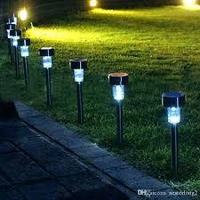outdoor solar garden lights not working