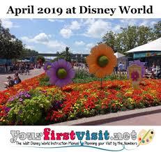 april 2019 at walt disney world