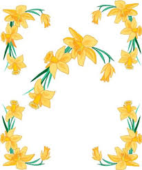 4 Corner Images Yellow Daffodil Flowers Etched Vinyl Stained Glass Film Static Cling Window Decal Discount Tuan100408