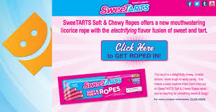 sweetarts soft chewy ropes a