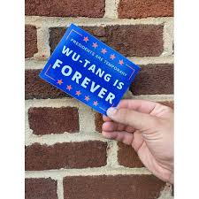 Free Shipping 2 Pack Of Presidents Are Temporary Wu Tang Is Forever Car Decal Funny Campaign Sticker Funny Election Sticker Walmart Com Walmart Com