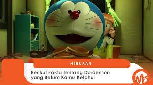 Berikut Fakta Tentang Doraemon yang Belum Kamu Ketahui