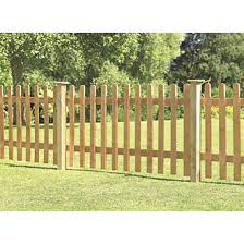 Forest Pale Picket Fence Panels 6 X 3 Pack Of 4 Picket Fence Panels Screwfix Com