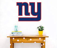 Amazon Com New York Giants Decal Football Team Logo Mural Decor New York Giants Sticker Home Kitchen