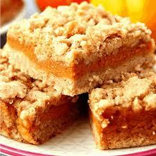 pumpkin pie bars recipe crunchy