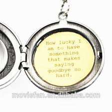 women s locket friendship jewelry winnie the pooh quote how lucky