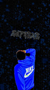 supreme nike wallpapers top free