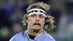 Rugby star Nick 'Honey Badger' Cummins ...