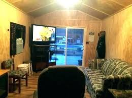 converting a storage shed into a home