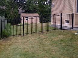 Deer Fence Install In New Hartford Ny Poly Enterprises Fencing Decking Railing