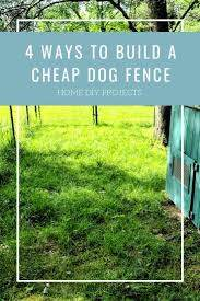 4 Dog Fence Ideas How To Build For Cheap Sawshub